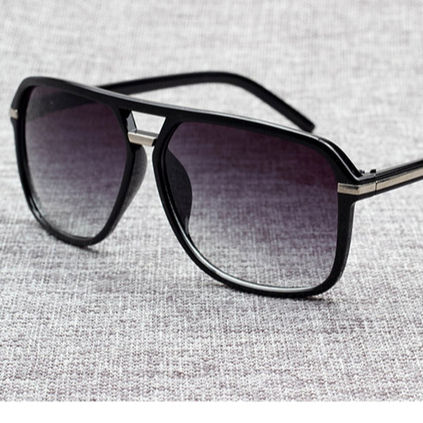 Fashion Men Cool Square Style Gradient Sunglasses Driving Vintage Brand Design Cheap Sun Glasses