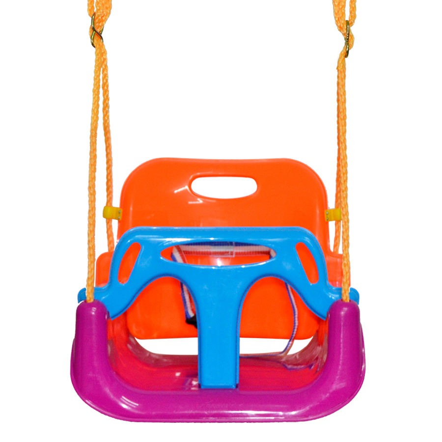 brand high quality kids outdoor toys swing cheap garden hanging swing chair set with rope