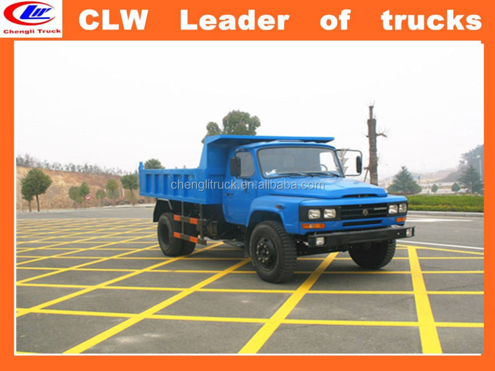 DongFeng 4*2 mini camion à benne basculante 4*2 hors route camion DongFeng 10 tonnes camion à benne basculante FAW