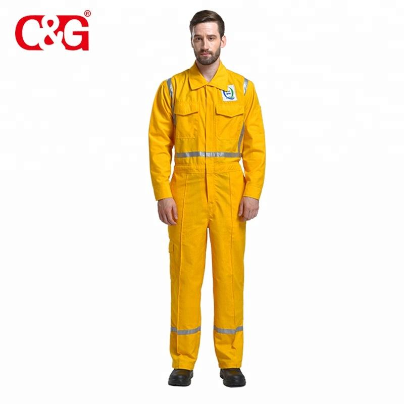 Top Performance fireproof reflective coveralls flame retardant clothing suppliers