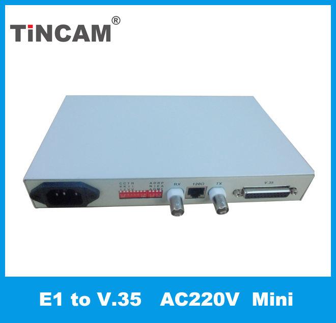 Alta calidad V.35 A Ethernet Convertidor de Interfaz 35 V E1 Convertidor de Protocolo