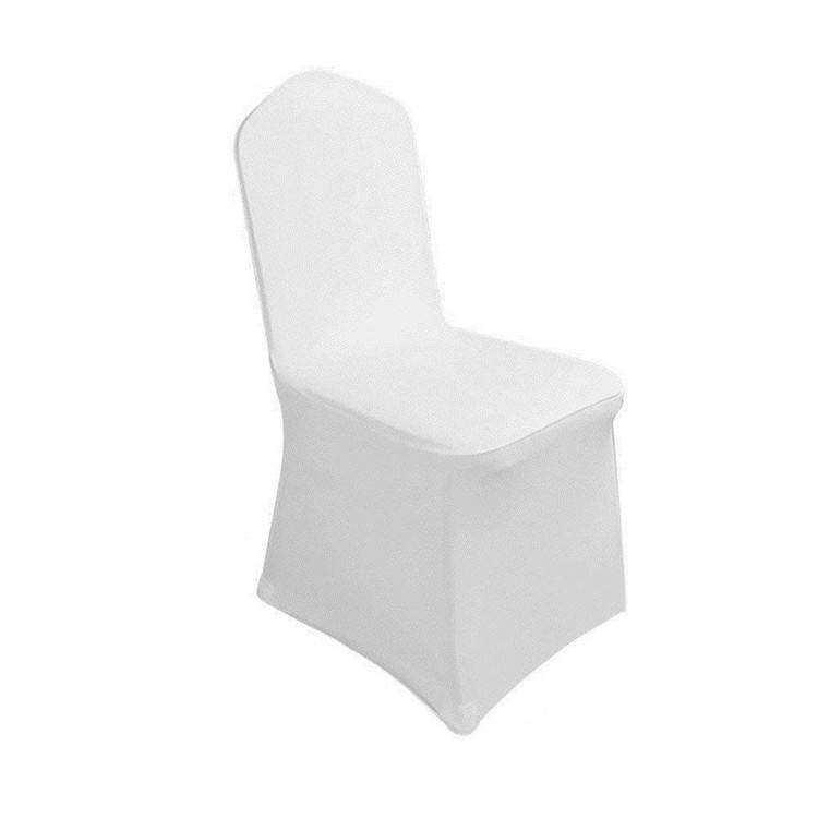 Free sample cheap Dining Wedding hotel Spandex Elegant Chair Covers #
