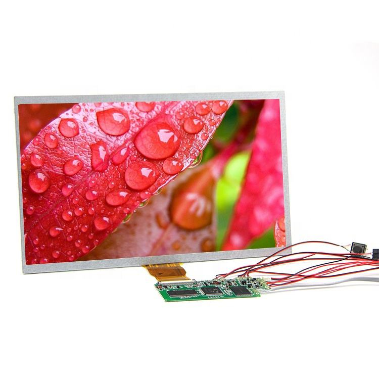 factory supply magnetic control switch 7 inch monitor lcd display screen panel for video greeting card brochure module