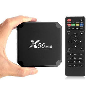 Grosir X96 Mini Android 9.0 TV Box 4K CPU Quad Core 2GB RAM 16GB ROM 2.4G wifi 100M