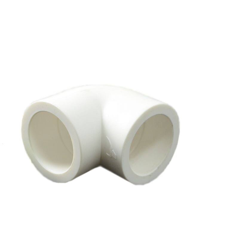plastic connectors 90 elbow PPR Pipe Fittings plastic t-junction HDPE fitting Conduit Elbows PVC pipe of plumbing