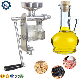 High Efficiency Home use mini peanut oil press pressing extraction machine /groundnut oil processing machine