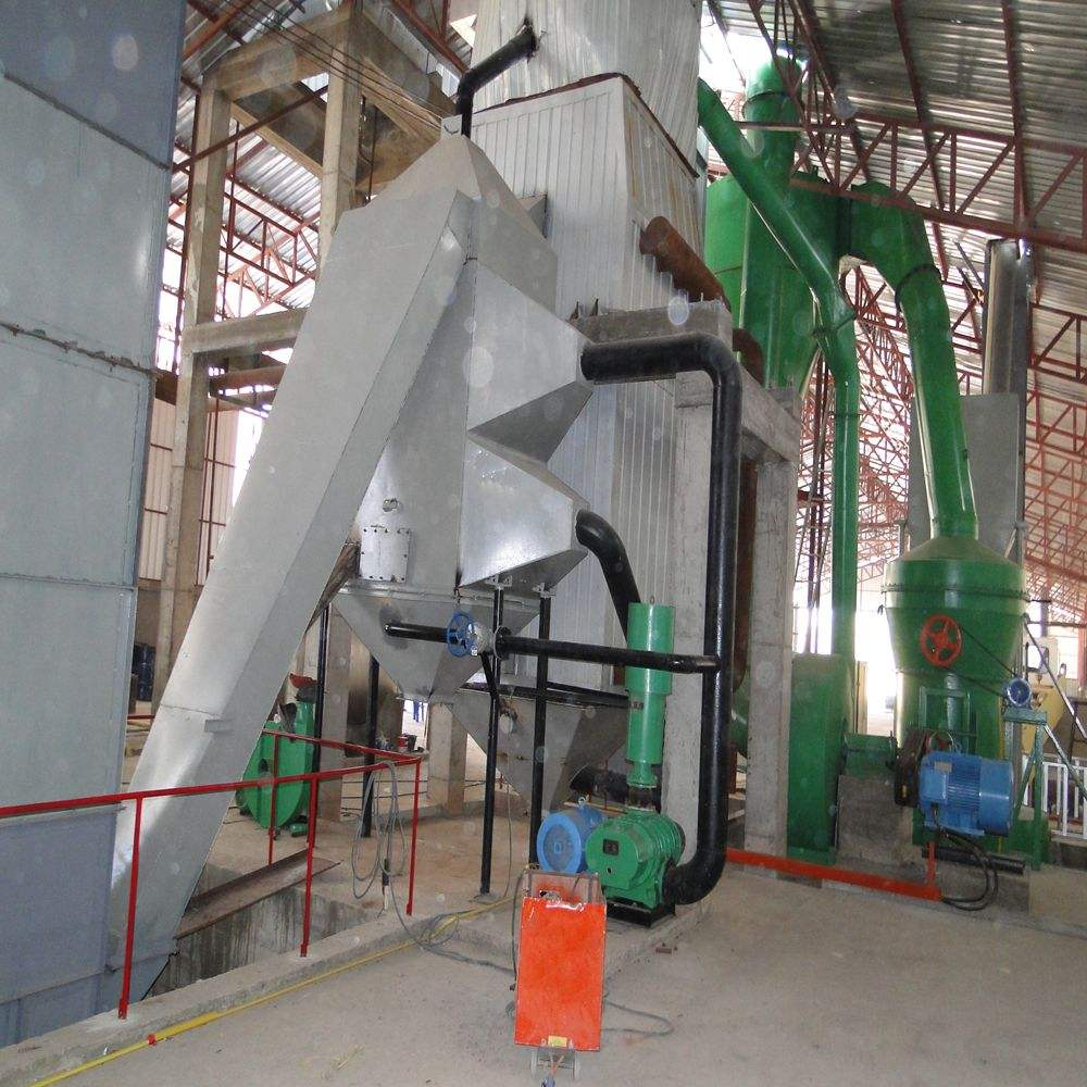 Hot air technology classic calcined gypsum powder machine manufacturing plant