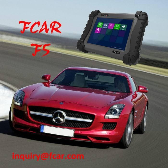작은 자동차 자동 스캐너, FCAR F5G 검사 도구, 워크샵 수리 장비, 키 프로그래밍, 인젝터, 연료 펌프