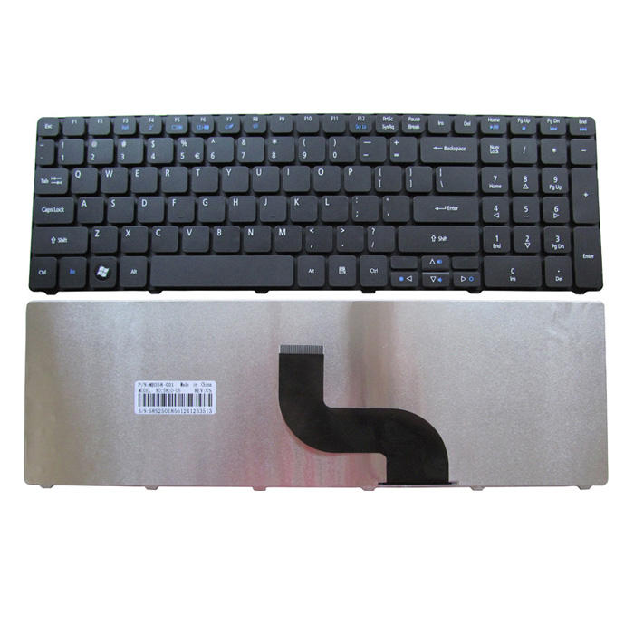 Para Acer Aspire 7750 7750g 7745 5750 7551 teclado 7750 7750g 7745 5750 7551 7741ZG 7741ZG teclado do laptop