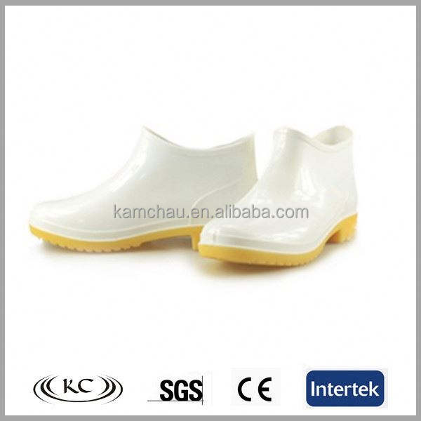 Funky wellies ankle gum shoes white rain boots for men