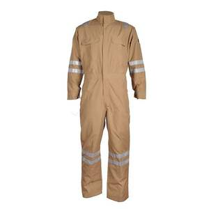 Long Sleeve Construction Worker Uniforms Industrial Safety Workwear