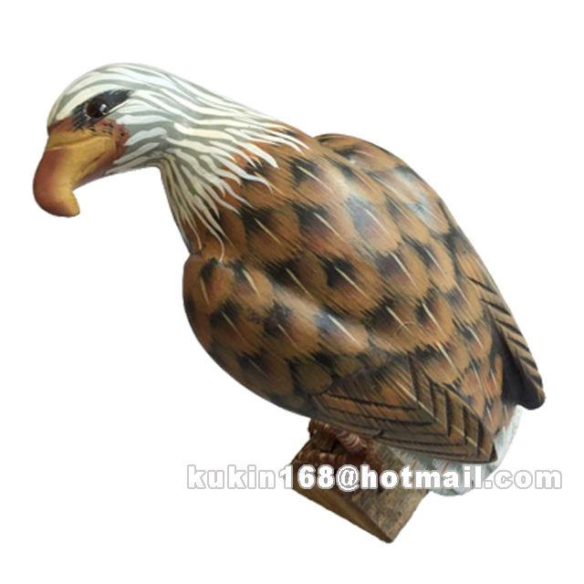 Benutzerdefinierte holz zahlen, holzschnitzerei eagles/vögel, holz-handwerk