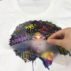 Heat Press Clothes Plastisol Label Custom Heat Transfer Logo Label for Clothing