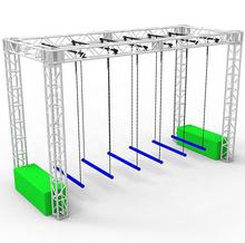 American ninja warrior obstacle course kids training equipment