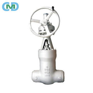 Casting Steel 4Inch 6Inch 8Inch Steam Butt Welding OS&Y Gate Valve with PricesCustoms Data