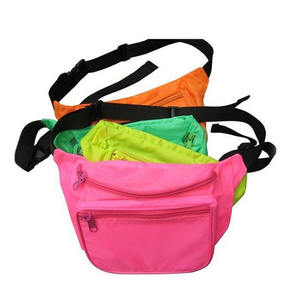 Custom Colour And Logo Sport Waist Bag Nylon Fanny Pack