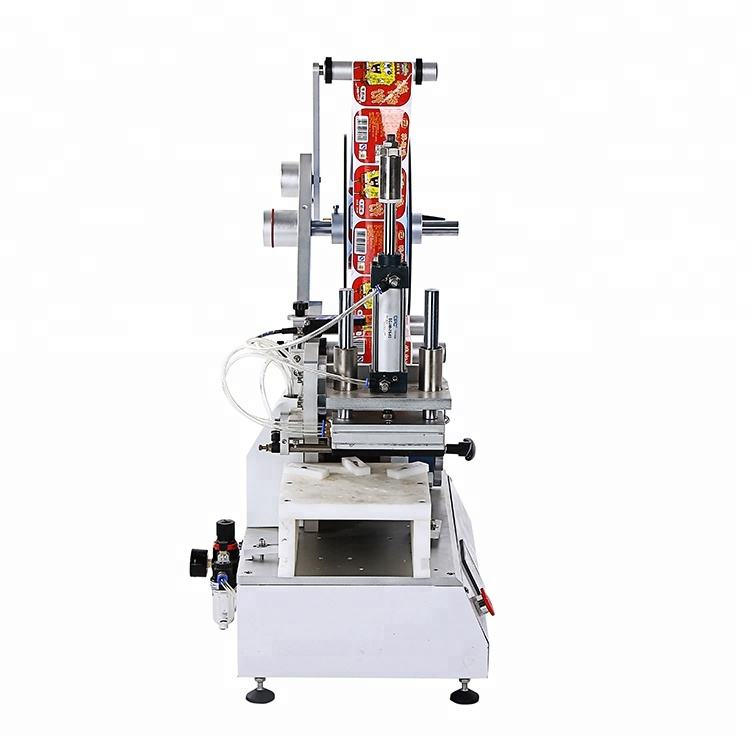 Food Beverage Shops [ Applicator ] Semi-automatic Label Applicator FK615 Semi-Automatic Flat Surface Tamp-Down Label Applicator