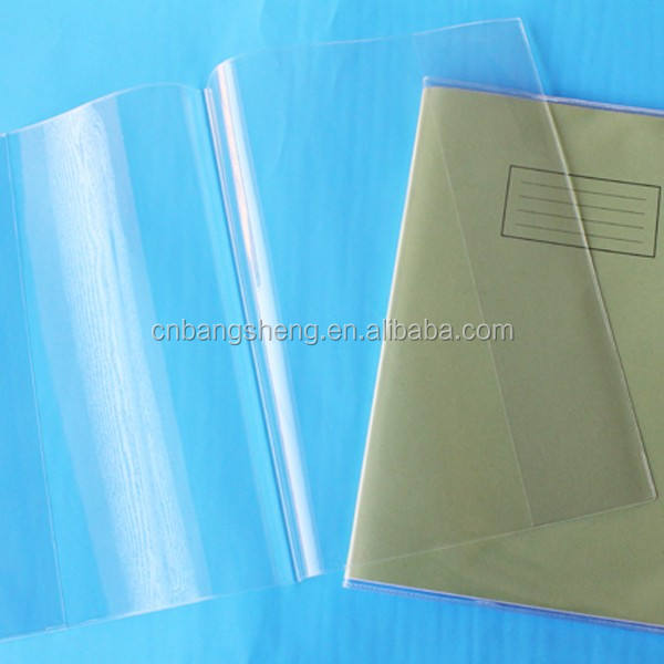 0.1mm-0.4mm New PVC waterproof book cover