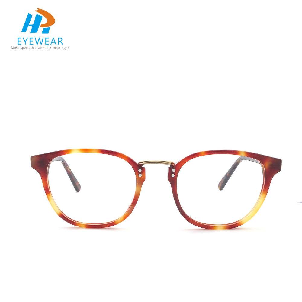 Fashion glasses with custom 3D metal logo OEM Manufacturer Eye Glasses Optical Glasses Frames