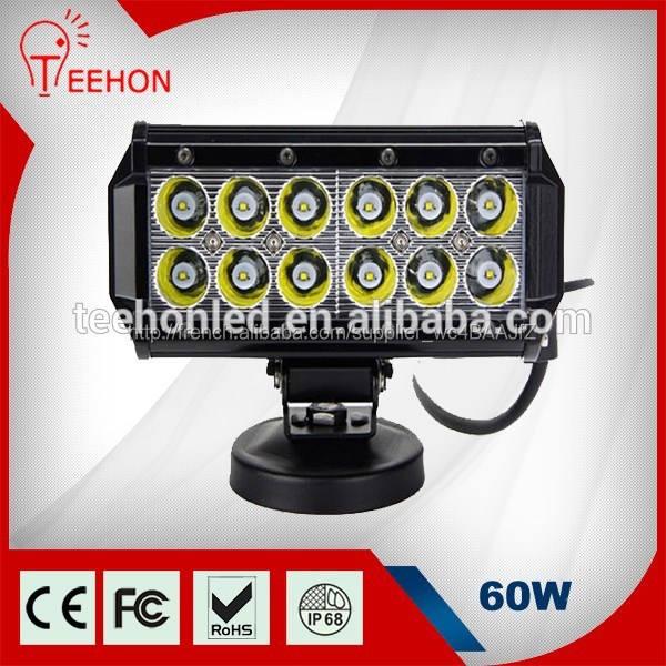 Osram led éclairage bar pour offroad véhicules, 60 w uv led barre rigide sxs 18
