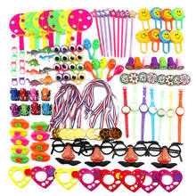 Most Popular Funny Assorted Gift Toys Giveaways Kids 120 Pcs Goodie Bags Carnival Prizes Festive Party Supplies Pinata Fillers
