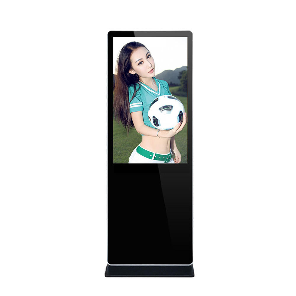 43 zoll stand lcd kapazitiven touch geröll android oder Win10 version indoor digital signage innen media-player