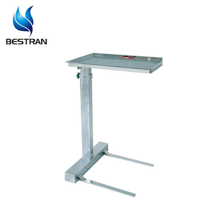BT-SMT003 304 stainless steel operation room surgical instrument table