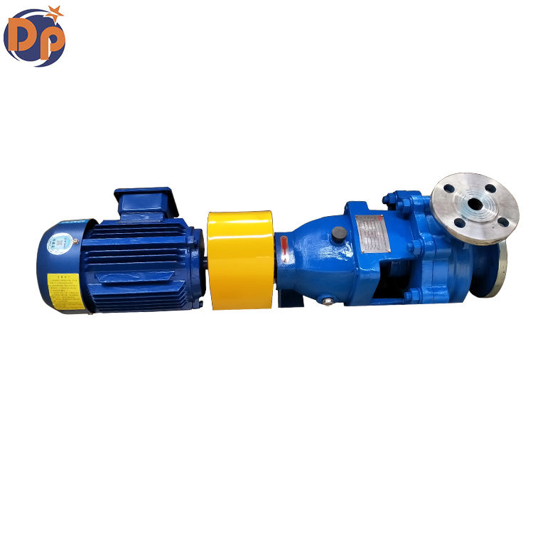 IH40-25-160 Chemical sewage pump API 610 standard stainless steel material for Chemical Plant Power Plant