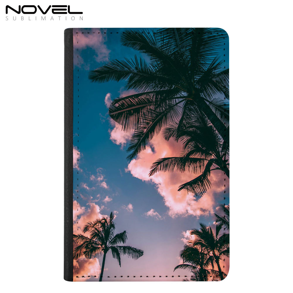 Personalized Passport Holder Sublimation Blank Cover Leather Passport Wallet Case