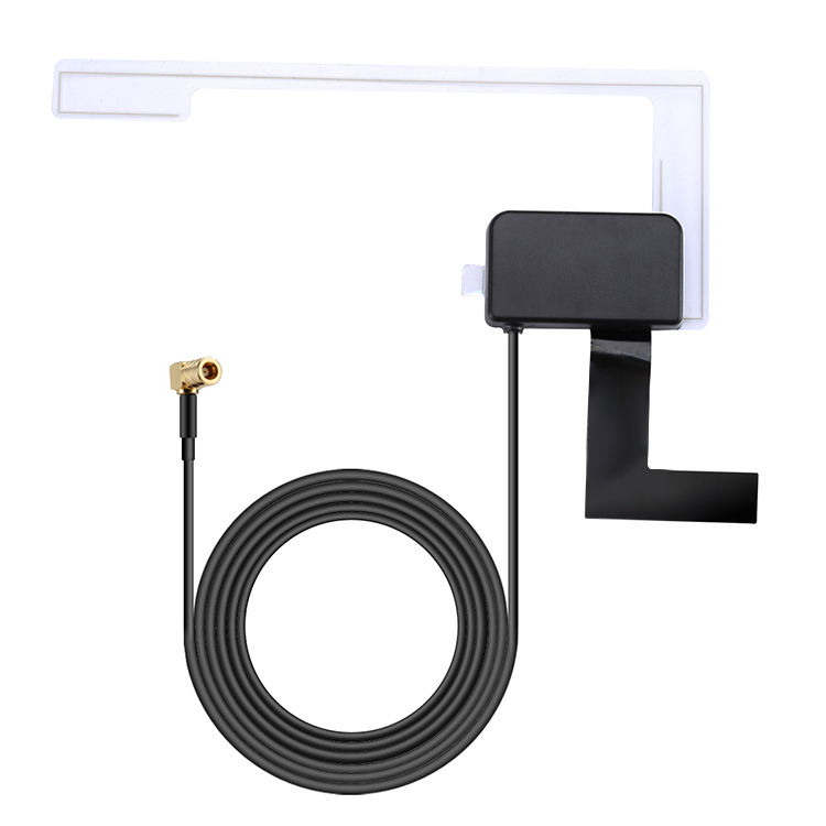 DAB+ Digital Car FM radio Aerial Antenna DAB SMB Plug vehicle universal DAB patch antenna