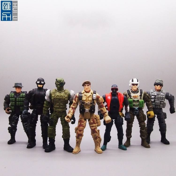 custom made 3.75inch military army soldiers action figure toys for collection