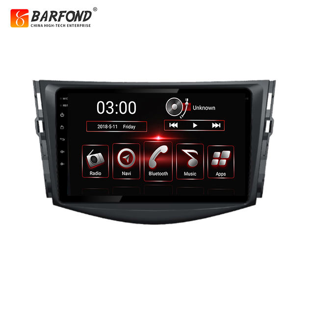 Android auto navigation system für Toyota RAV4 2007-2012 mit IPS touch screen video octa core navigation 10,1 zoll