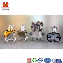 Luxury Packaging transparent white color empty cosmetic perfume fragrance glass bottle with mist sprayer hello kitty