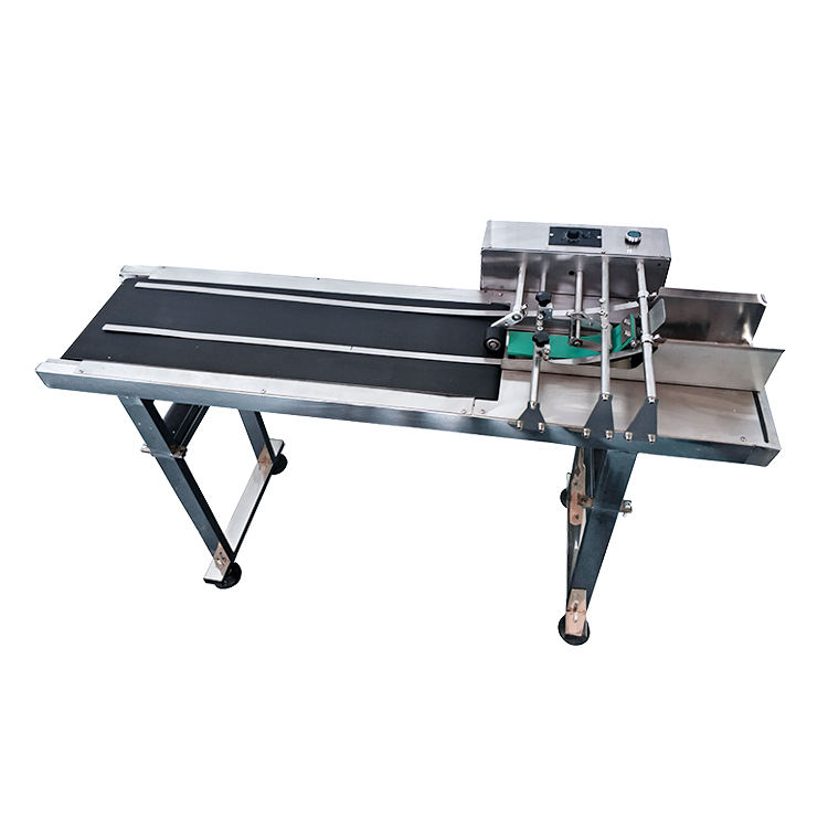 Frequency control Speed Adjustable paging machine conveyor belt friction feeder for inkjet printer