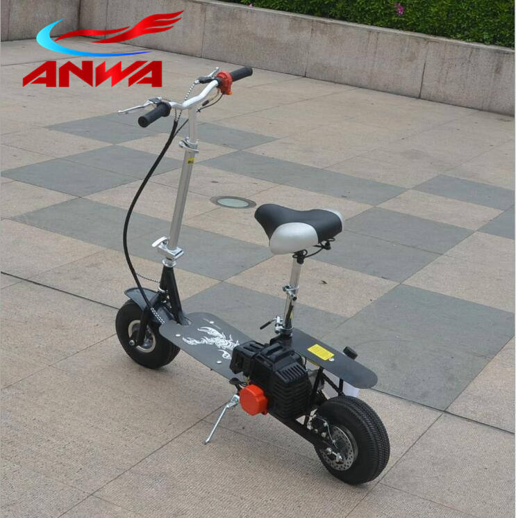 49cc mini gas powered cooler scooter
