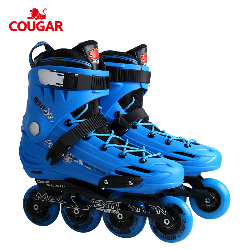 High quality PP hard shell boot high rebound pu wheel slalom freestyle inline skate