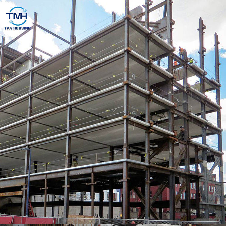 China prefabricated high rise steel structure shopping mall building quotation sample