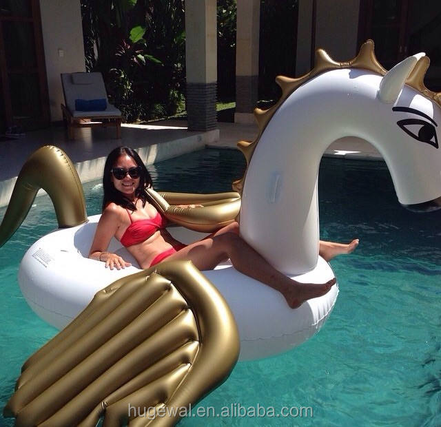 Factory directly Giant Inflatable Pegasus big pool rafts Float Inflatable Float Toy