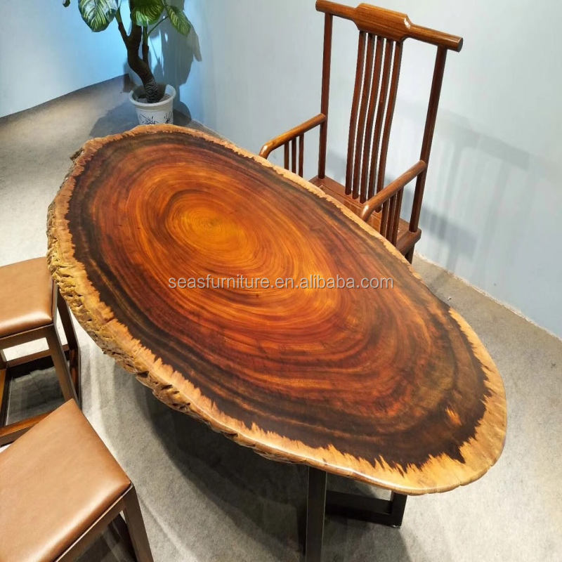 Jean Prouve Gueridon Wood Dining Table 120cm