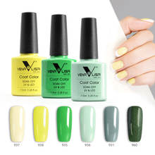 Nail Art Venalisa 7.5ml 60 Color Coat Gel Nail Polish OEM ODM  Brand Private Label French Nail Enamel Glaze Polish Lacquer