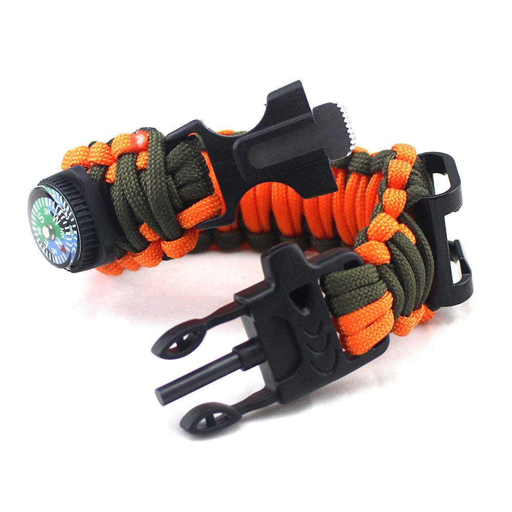 paracord survival bracelet charms for bracelet making with wild tools