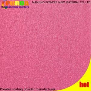 Гоночной розовый текстуры тефлон порошковое покрытие