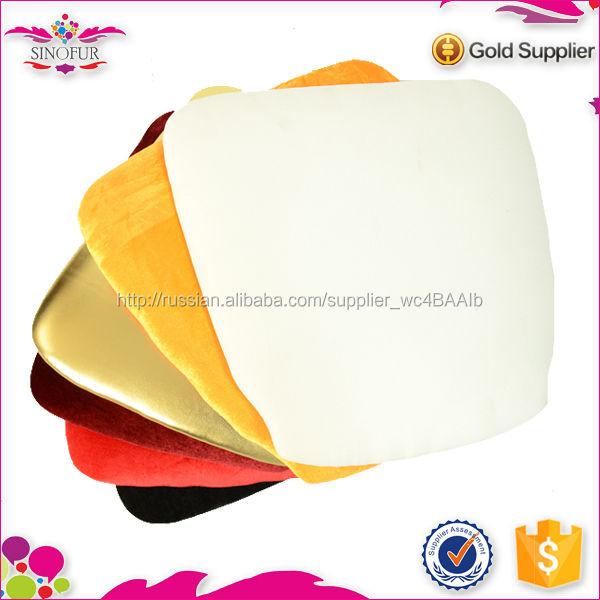 Оптовая продажа циндао Sinofur дешевые OEM полезная мягкая и жесткий банкетный стул подушки для сиденья
