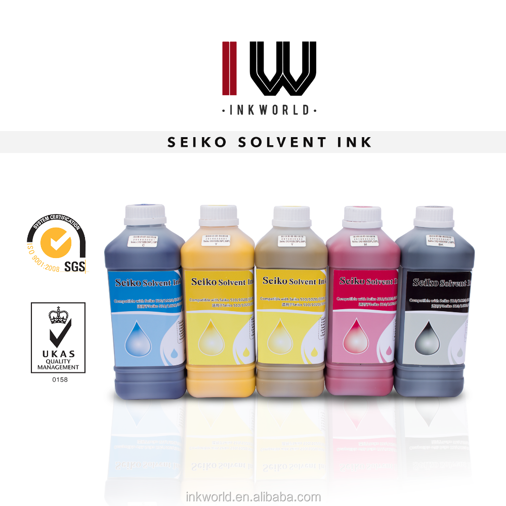 Factory price Solvent ink for Infiniti / Challenger FY-3286J machine for seiko 508GS 12pl heads