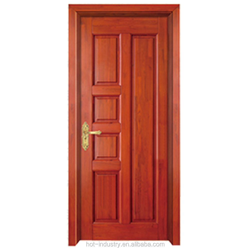 China supplier durian larch heavy wood door