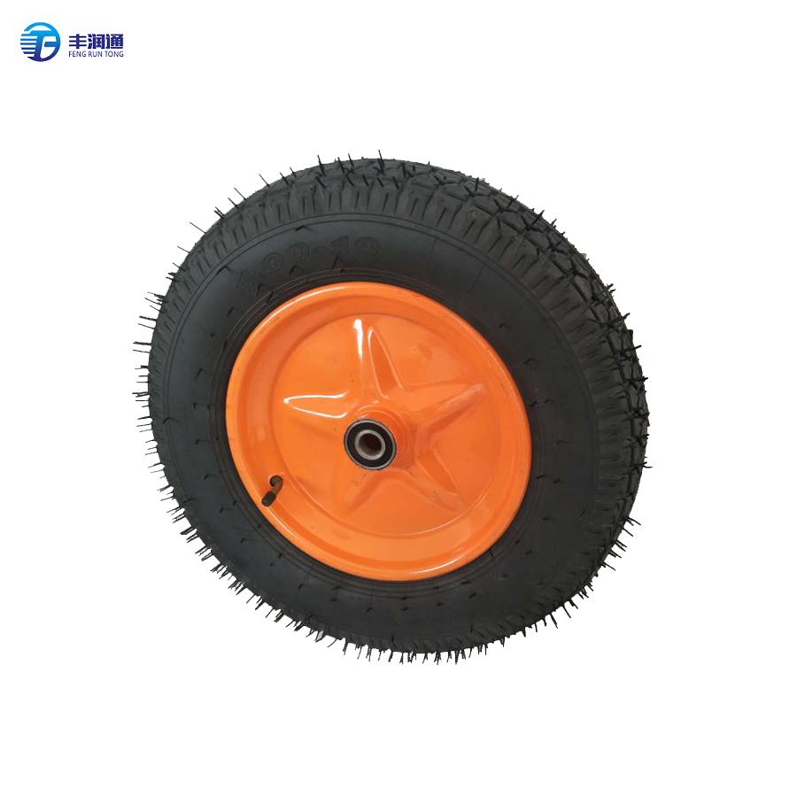 Wheel UKAS Trolley Wheel Pneumatic 3.00-4 Tyre Hole 12mm Diameter