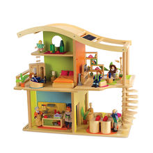 High Quality Diy Dollhouse Wooden House Toy,Miniature Doll house