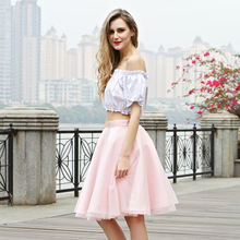 2020 Summer Wholesale Sweet Clothes Pink Women Mini Skirt For Lady