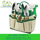 Eco white garden tool set, tools bag JLD-GT005