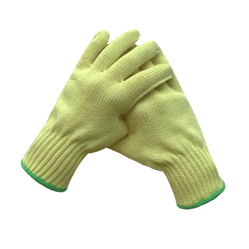 InStock Reinforce anti fire cut resistant protect flight work gloves kevlar yarn aramid fiber wire thread material knit for fire
